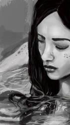Girl in bathtub by la-Structure-du-Ciel