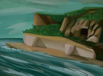 The cavern by la-Structure-du-Ciel