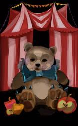 Teddy Circus Illustration by la-Structure-du-Ciel