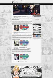 Layout para Site - Fansub
