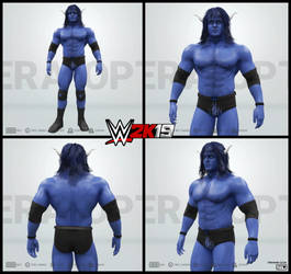 Babe the Blue Ox in WWE 2k19