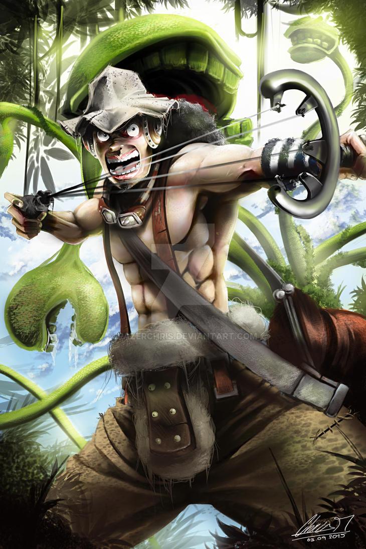 One Piece Usopp Time to get serious by RazerChris