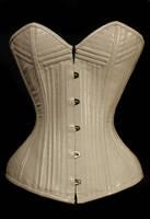 White corset by satanaya