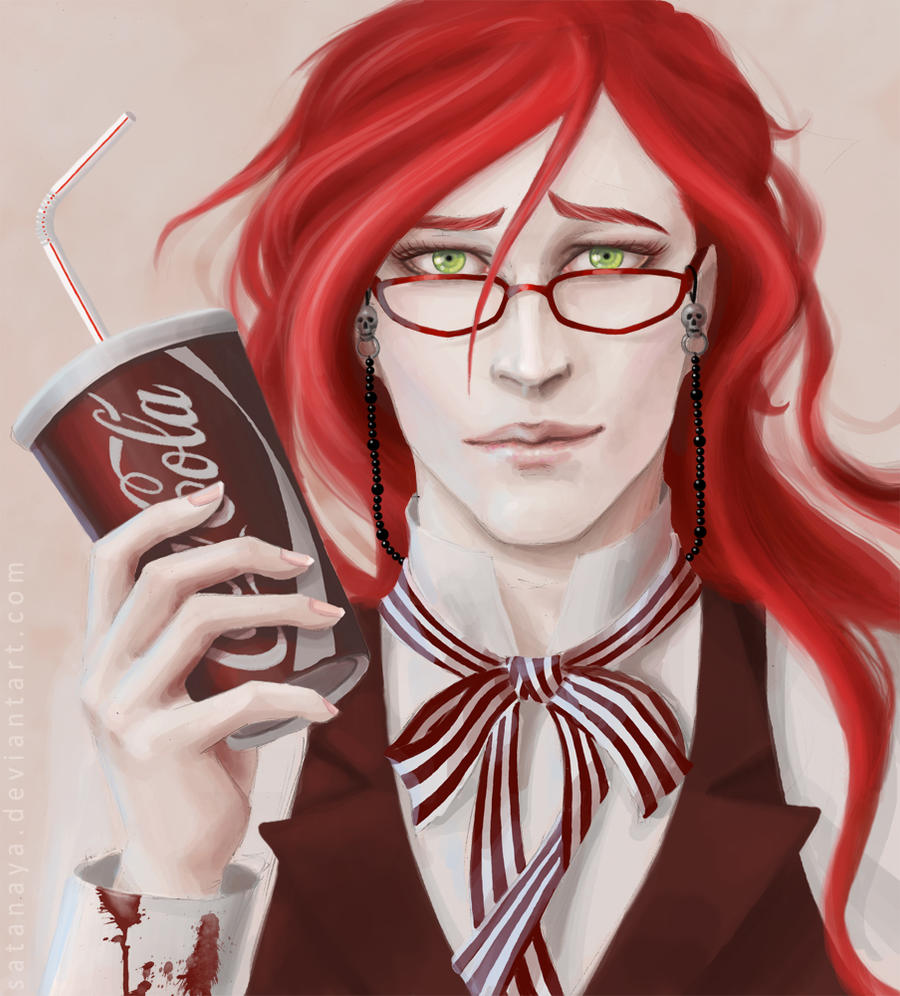 Grell - digital by satanaya