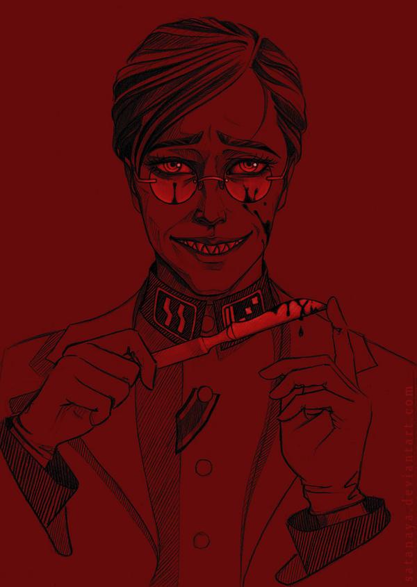 Doctor Grell Sutcliff by satanaya