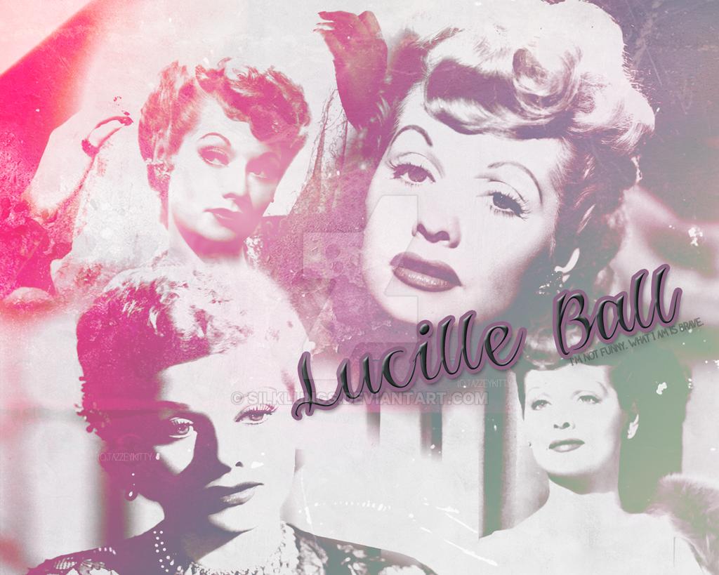 Lucille Ball Wallpaper by silklungs on DeviantArt