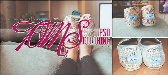 Toms PSD Coloring