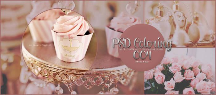 Petal Pink PSD Coloring