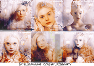 Elle Fanning Iconset by silklungs