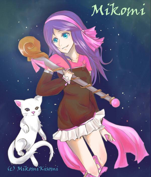 Art Request: Mikomi by ReverseMirror