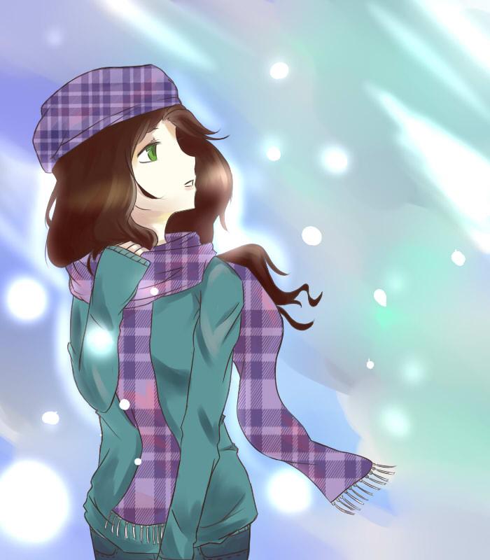 HBD:Snowdrops by ReverseMirror