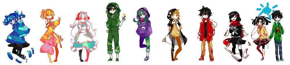 Kagerou Pixels by ReverseMirror