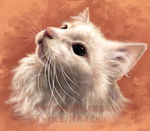 Commission - Pet Portrait ThurstonWaffles by Rabenfeder