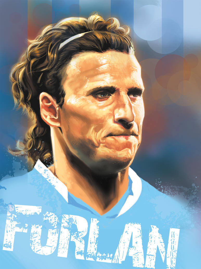 DIEGO FORLAN URUGUAY by rocketraygun on DeviantArt