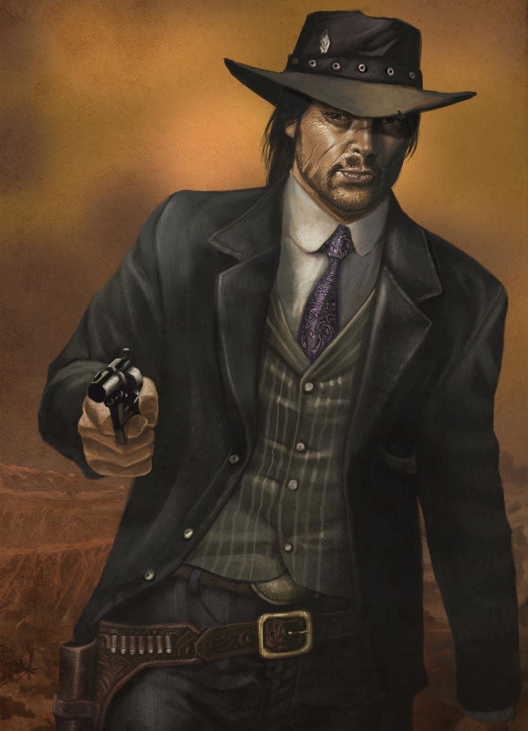 JOHN MARSTON Original by rocketraygun