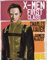 X-MEN FIRST CLASS XAVIER by rocketraygun