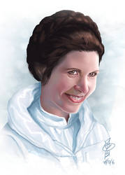 Leia tribute