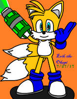 Tails Prower - Ready For Action!!!!!!!! by Erik-the-Okapi