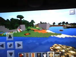 Minecraft PE - Big Pond by Erik-the-Okapi