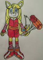 Zooey - Ready for BATTLE!!!!!!!! (Gift) by Erik-the-Okapi