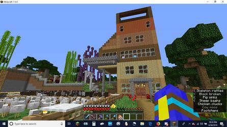 My House in Minecraft 1.14.3 by Erik-the-Okapi