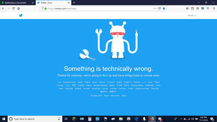 Y U No Work Twitter?! by Erik-the-Okapi