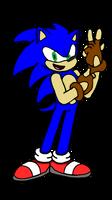 Sonic's New Gloves (GIFT) by Erik-the-Okapi