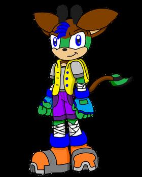 Erik the Okapi (Civilian Outfit)