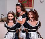 PNP Shania Twain Natalie Portman French Maid Bound