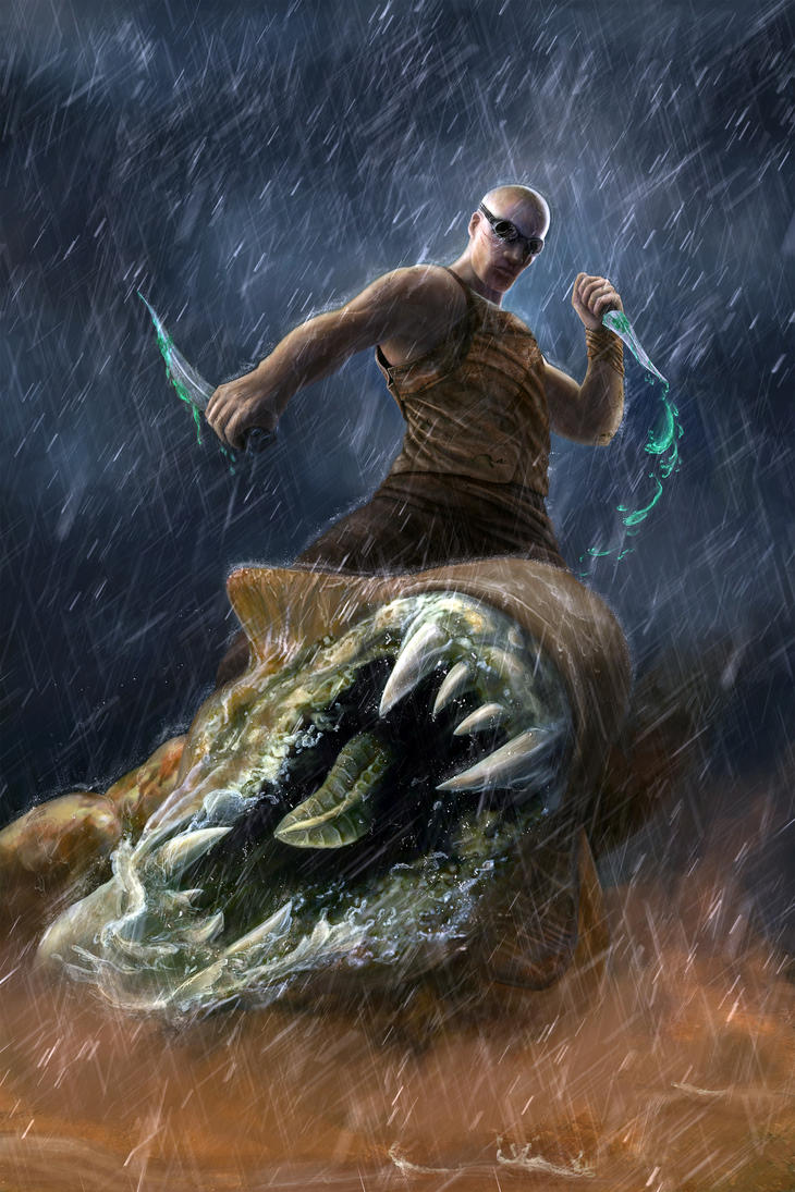 Riddick by airuzki