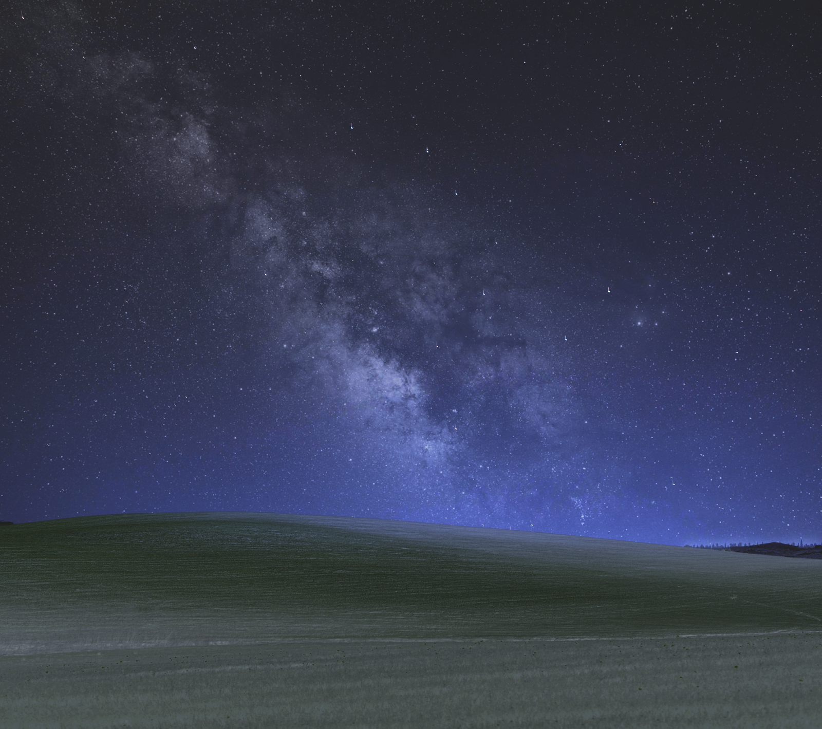 Windows Xp Bliss Wallpaper By Nigth By Rush4art On