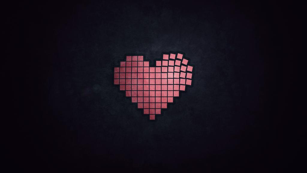 Heart Design Wallpaper by Rush4Art