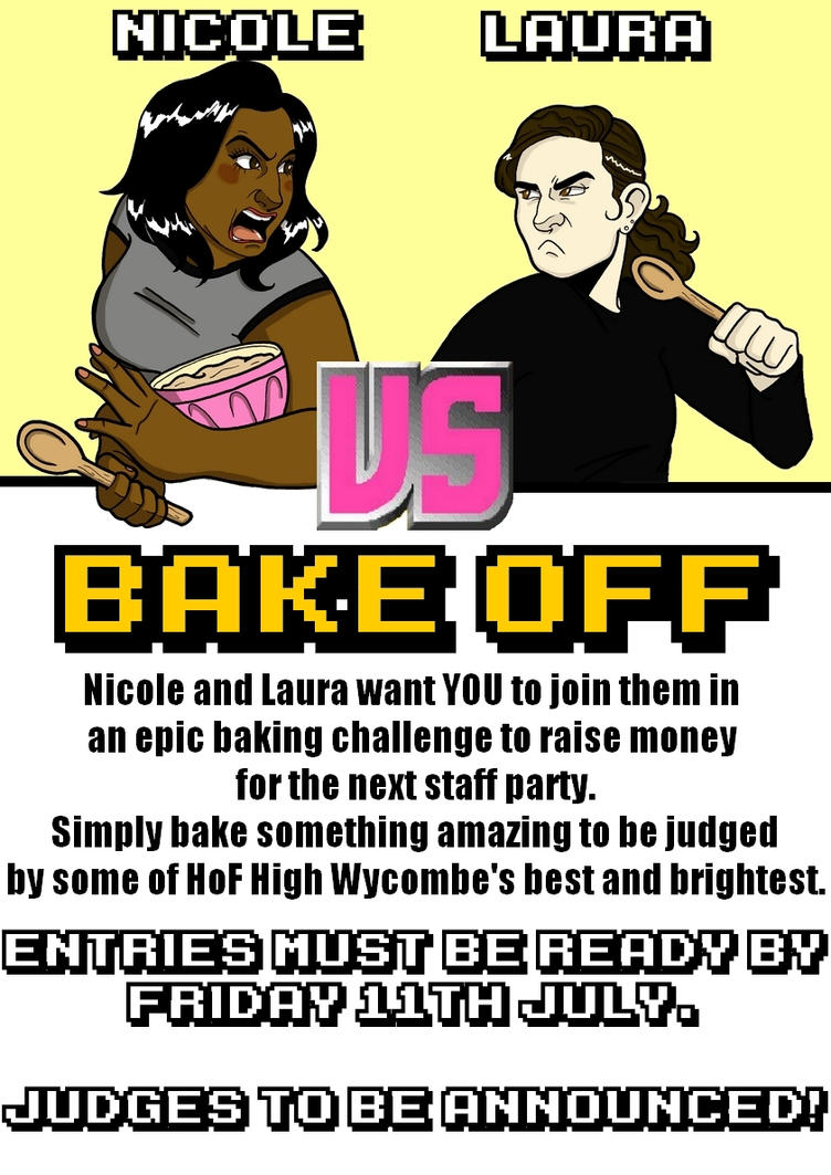 Bake Off Poster by lubyelfears