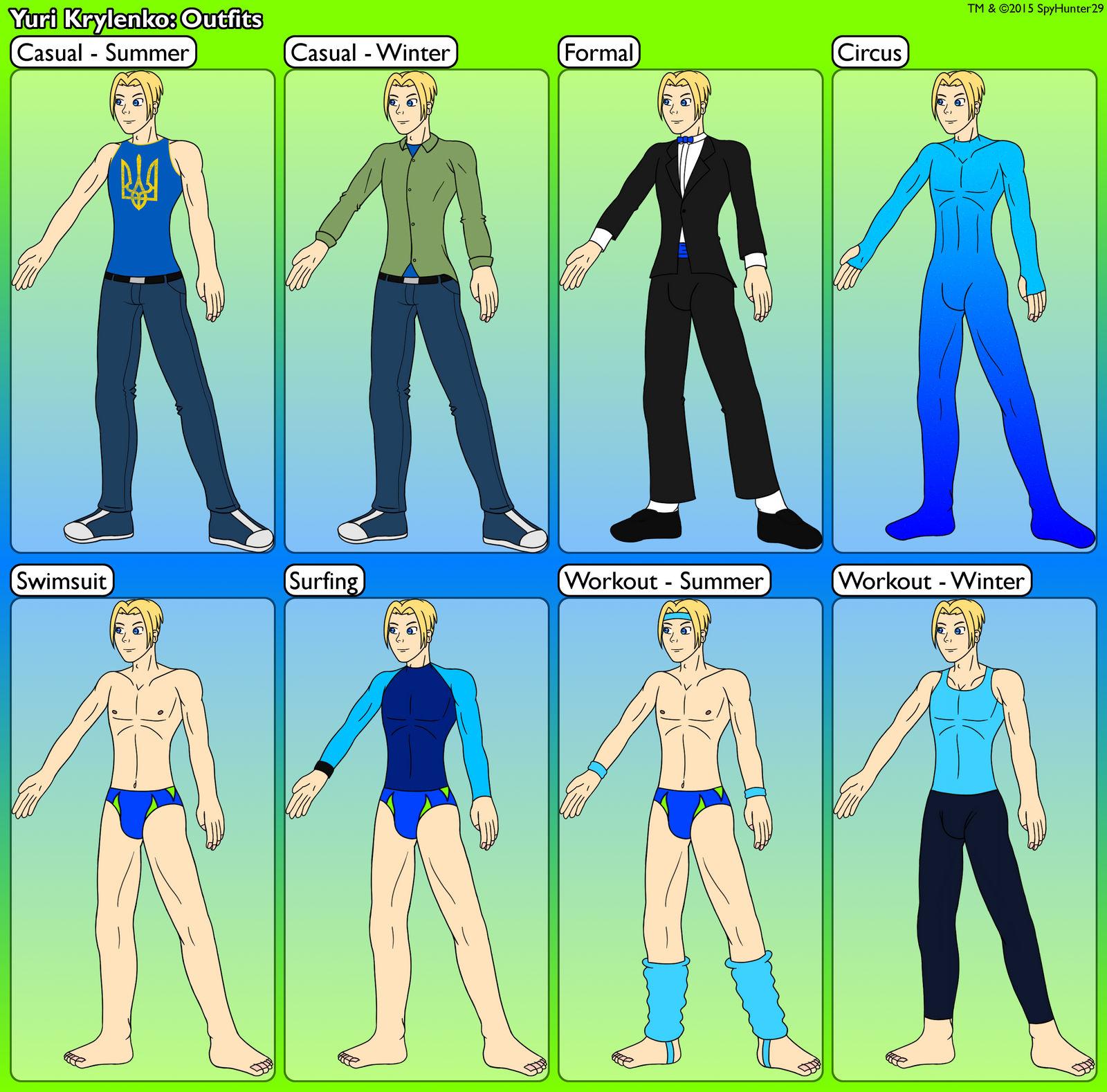 Yuri Krylenko Outfits