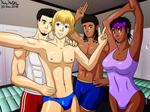 Yuri and Friends - Gymselfie
