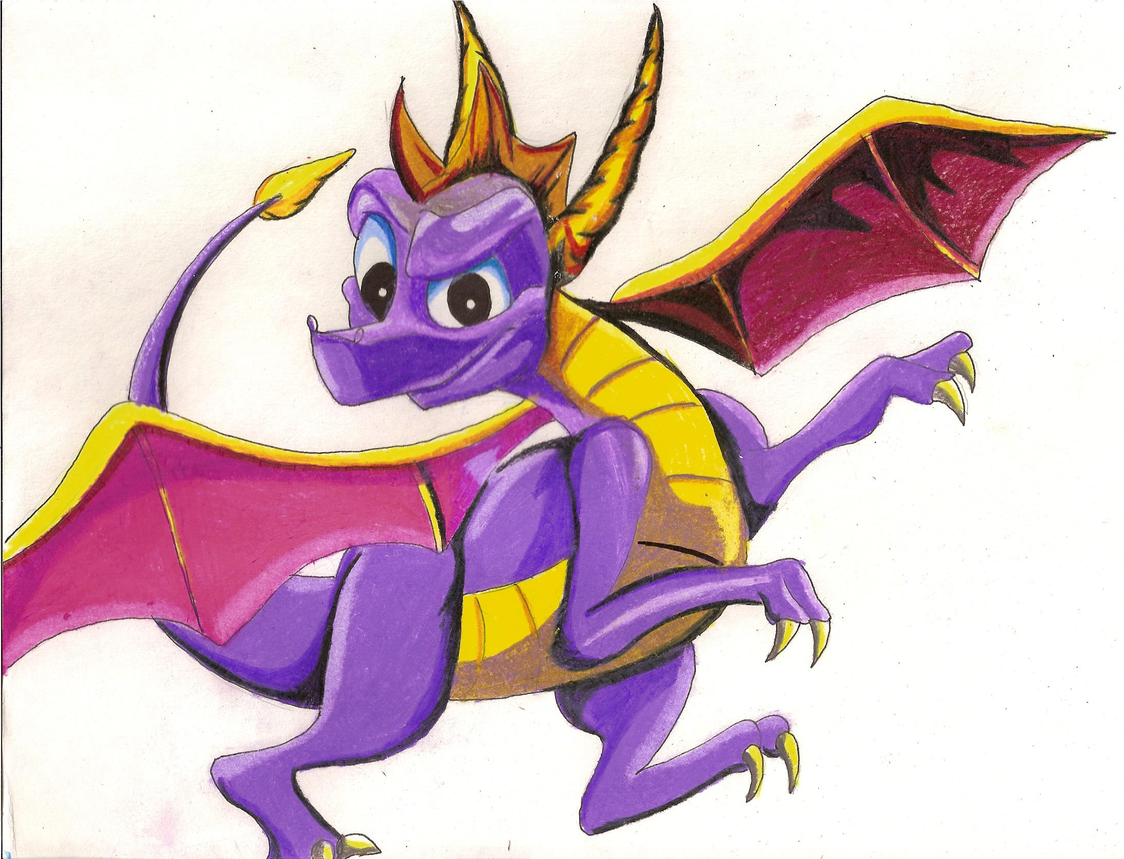 Spyro the Dragon by lacusyamato2008