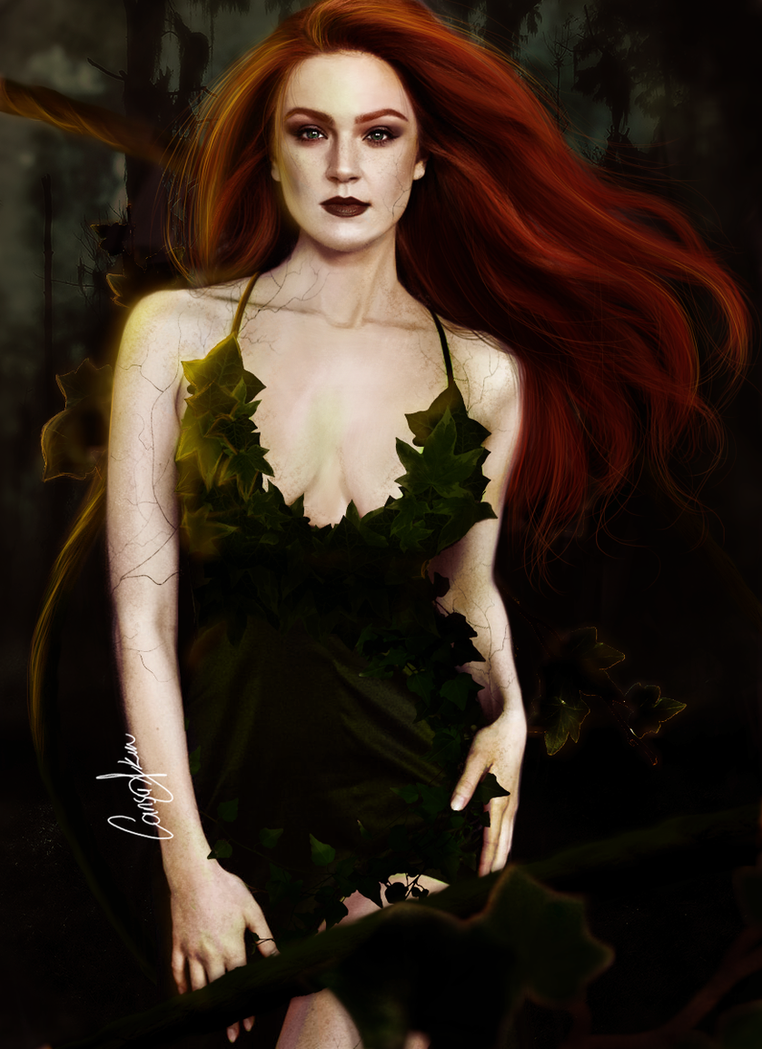 Maggie Geha as Poison Ivy by CansuAkn