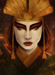 avatar kyoshi by CansuAkn
