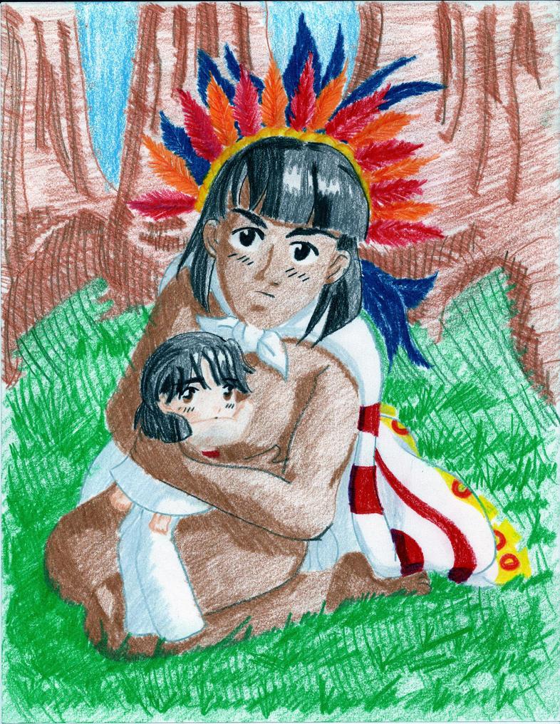 Mexico y Tenochtitlan by reina-del-caos
