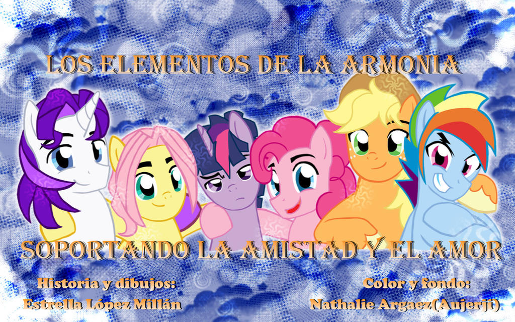 My Little Pony portada 4 by reina-del-caos