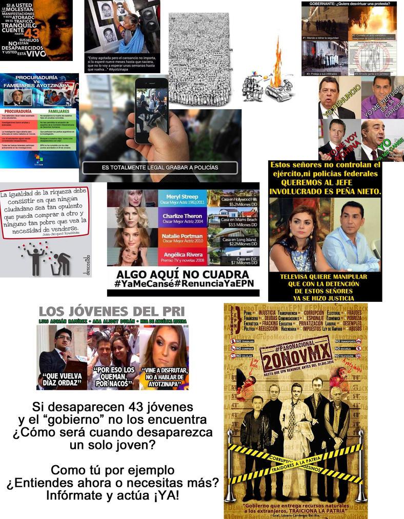Para los desubicados y Ayotzinapa by reina-del-caos