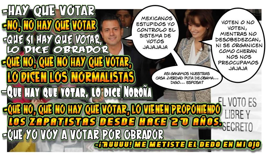 Votar no votar conoce a Cheran by reina-del-caos