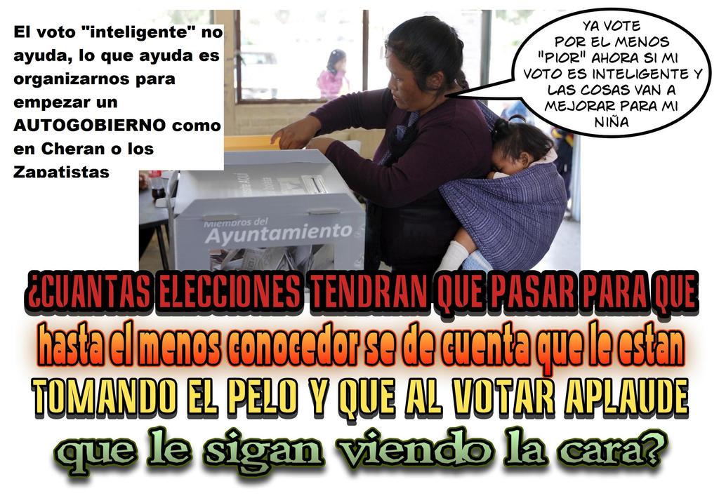 voto no voto conoce a Cheran 2 by reina-del-caos