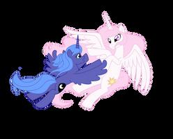 Cancion de cuna para una princesa Luna final by reina-del-caos
