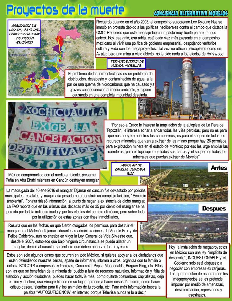 Ecocidios en Mexico by reina-del-caos