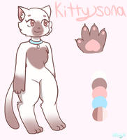 New Kittysona design by xXKaxyXx