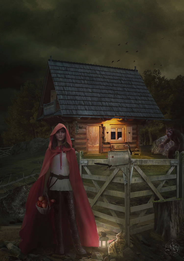 Caperucita Roja - Red Riding Hood by Quijuka