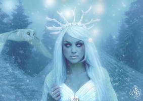 The Snow Queen by Quijuka