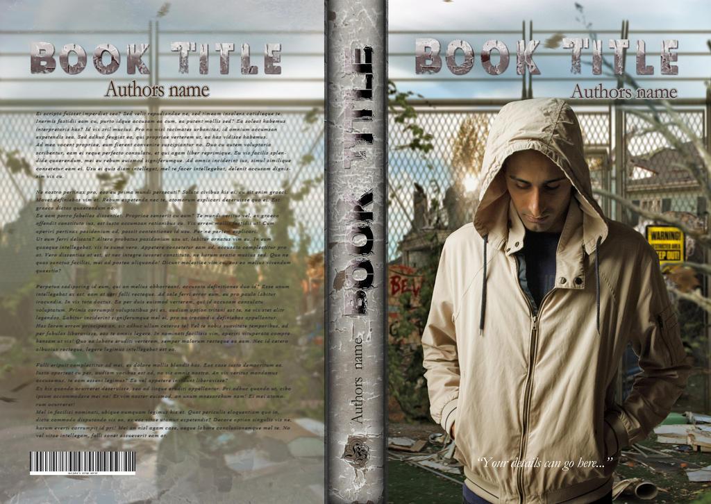 Cathleen Book Cover Challenge - Hooded Destruction