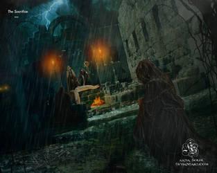 The sacrifice by Quijuka